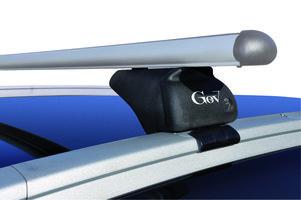 Dakdragers Volvo V60 stationwagon met dichte dakrails vanaf 2010 Aluminium (GEV-THOR-K)