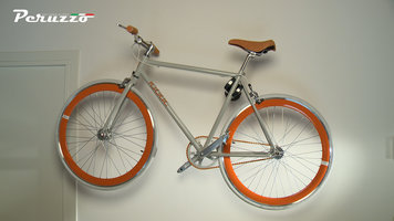 PERUZZO 405 COOL BIKE RACK ROOD universele fiets wandsteun