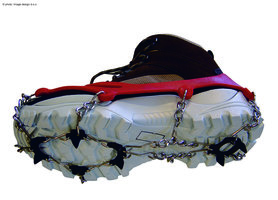 Schoensneeuwkettingen met kettingen en gripplaatjes VERIGA ICETRACK M (37-40)