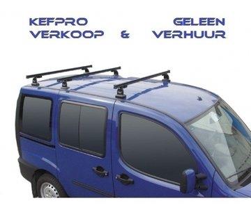 GEV PRO 9415 NISSAN PRIMASTAR dakdrager set met 3 stangen vanaf 2005