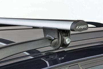 DAKDRAGERS MERCEDES GLK VANAF 2008 met dakrail aluminium afsluitbaar