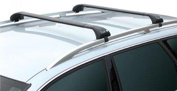 Dakdragers Subaru Forester met open dakrails vanaf 2014 (GEV-GEO-K)