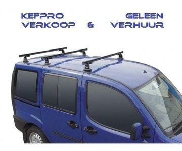 GEV PRO 9406 PEUGEOT PARTNER dakdrager set met 3 stangen vanaf 2008