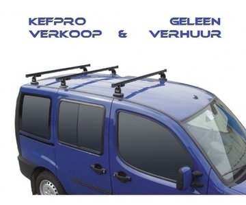 GEV PRO 9408 FIAT DOBLO dakdrager set met 3 stangen vanaf 2010