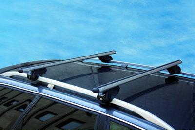 Dakdragers AUDI A4 ALLROAD vanaf 2013 met open dakrails Aluminium (GEV-THOR-K)
