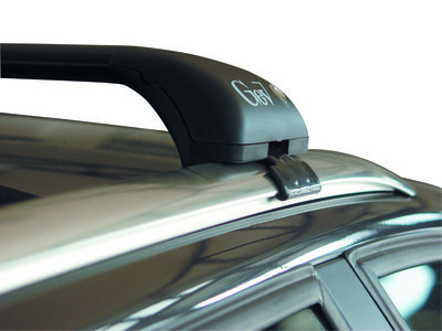 set Dakdragers VW - VOLKSWAGEN TOUAREG met dichte dakrails vanaf 2018 (GEV-GEO-L)